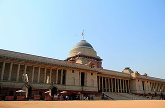 President of India - Image: President Palace Delhi