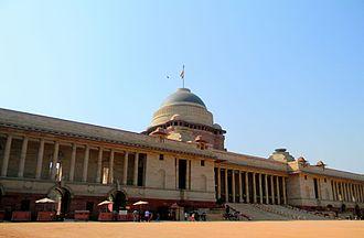 President of India - Image: President Palace Delhi