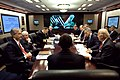 President Barack Obama holds his first meeting on Iraq in the Situation Room of the White House, Jan. 21, 2009.jpg
