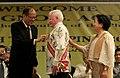 President Benigno S. Aquino III gives a Conferment of the Order of Sikatuna to Ambassador Jose L. Cuisia Jr. (01).jpg