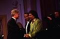 President Bill Clinton greets musician Little Richard.jpg