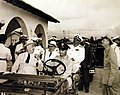 President Franklin D. Roosevelt jokes with President Getulio Vargas of Brazil, 1943 (24501393684).jpg
