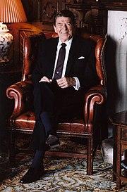 President Reagan at Ashford Castle in Ireland 1984
