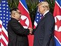 President Trump and Kim Jong-Un meet June 2018 (cropped).jpg