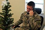 President calls USFOR-A Soldiers on Christmas Day 141227-A-SO125-001.jpg