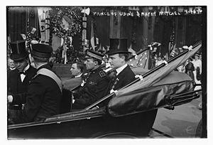 Prince Ferdinando, Duke of Genoa (1884–1963) - Prince Ferdinando in 1917 with the mayor of New York, John Purroy Mitchel.