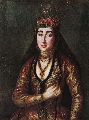 Garsevan Chavchavadze - Garsevan's wife Maria