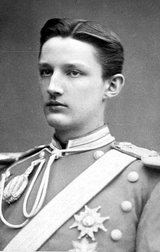 Prince Carl, Duke of Västergötland - Portrait of the Duke of Västergötland, 1882.
