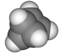 CPK model of prismane