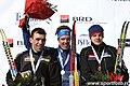 Prize giving ceremony (middle distance, men; Ski-EOC 2010).jpg
