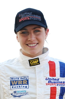 Molly Taylor Rally car driver