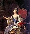 Profile portrait of Catherine II by Fedor Rokotov (1760s, Tretyakov gallery).jpg