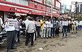 Protests against arrest of Baliram Dhote Chandrapur.jpg