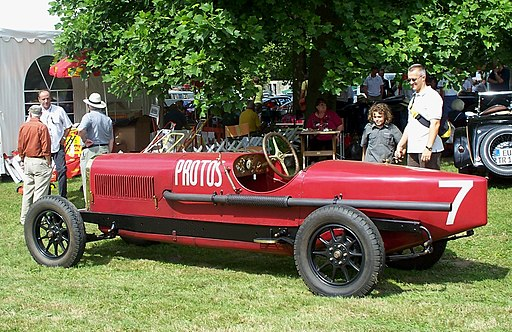 Protos Rennwagen