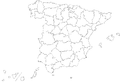 Provinces of Spain (Blank map).png
