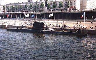 Daphné-class submarine - Image: PsychéRouen 1994
