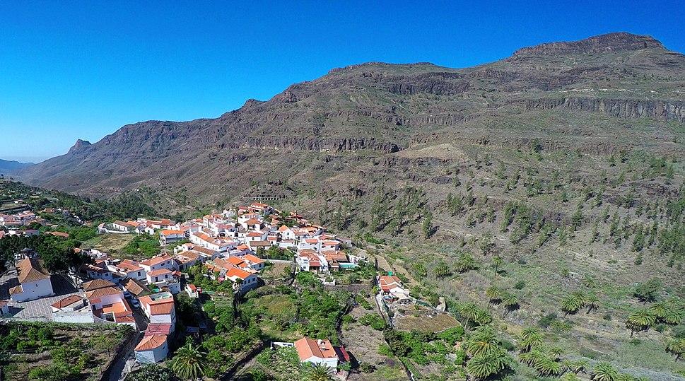 Pueblo de Fataga