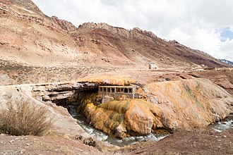 Puente del Inca - Image: Puente del Inca near Mendoza
