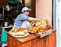 Puesto de comida, calle Jirón Ancash, Lima, Perú, 2015-07-28, DD 80.JPG
