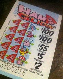 Gambling pull tickets
