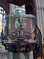 Pulpit by Henry Wilson in Ripon Cathedral 02.jpg
