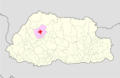 Punakha Chhubu Gewog Bhutan location map.png