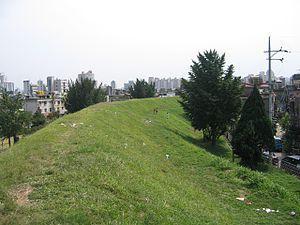Wiryeseong - Image: Pungnap Toseong