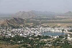 Pushkar, India, Panoramic view of Pushkar.jpg