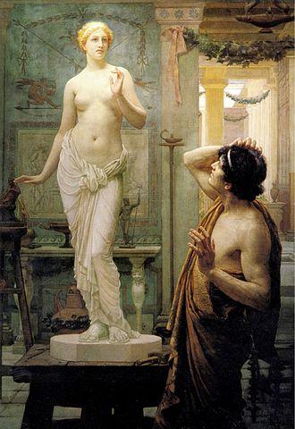 Ernest Normand - Image: Pygmalion and Galatea (Normand)