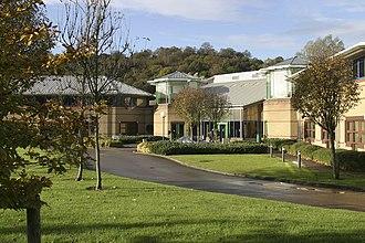 Welsh Revenue Authority - QED Centre, headquarters of the Welsh Revenue Authority in Pontypridd