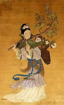 麻姑 麻姑(まこ)は、中国神話に登場する下八洞神仙の一柱仙女である。西... 麻姑