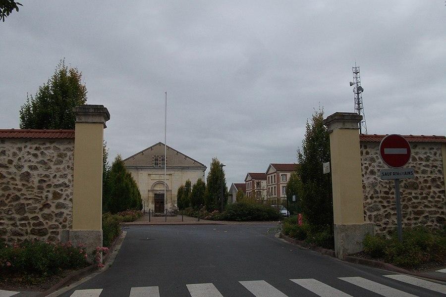 Entrée du Quartier Chanzy de Chalons.