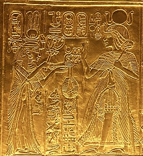 Queen Ankhesenamun with Sitrum and menat.jpg