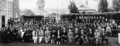 Queensland State Archives 3800 Staff students and Minister for Public Instruction at the Technical College Warwick 1929.png