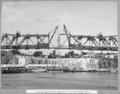 Queensland State Archives 4020 Erection of suspended span erection of two centre panels Brisbane 25 October 1939.png