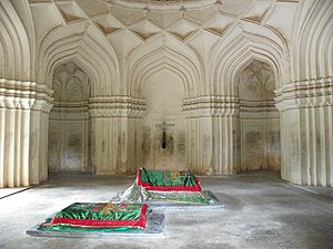 Ibrahim Quli Qutb Shah Wali - Inside Sultan Ibrahim Qutub Shah's tomb