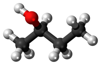 2-Butanol - Image: R Butan 2 ol 3D balls