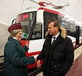 RIAN archive 997734 Viktor Zubkov attends opening ceremony for Volgograd Metrotram's Yelshanka station.jpg