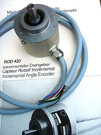 Rotary encoder - Encoder