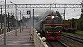 RZD M62-1631 couping with ER2K-930 Zelenogorsk (28204649730).jpg