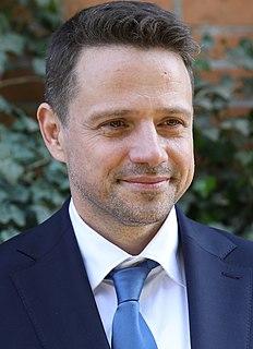 RafałTrzaskowski Polish politician,Mayor of Warsaw since 2018