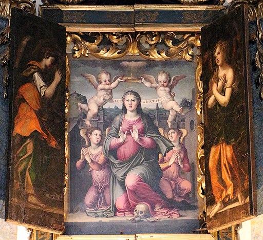Raffaellino del colle, madonna delle grazie, 1555, 03