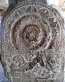 Railing Pillars with Amaravati Art at Velpuru Ramalingeswara Temple 06.JPG