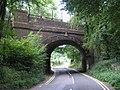 Railway Bridge, near Oxted - geograph.org.uk - 47430.jpg