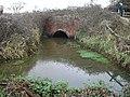 Railway bridge over rhyne - geograph.org.uk - 98553.jpg