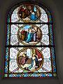 Raimbeaucourt (Nord, Fr) église, vitrail 01.JPG