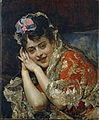 Raimundo Madrazo - The Model Aline Masson with a White Mantilla.jpg