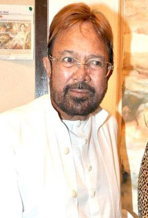 Rajesh Khanna - Rajesh Khanna at Prithvi Soni's exhibition, in 2010.