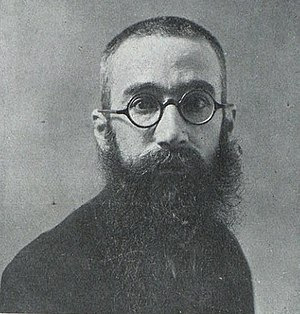 Ramón del Valle-Inclán - Valle-Inclán photographed by Audouard in 1911