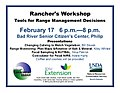 Ranchers' Workshop Philip, SD Feb 17, 2015 (16403100685).jpg
